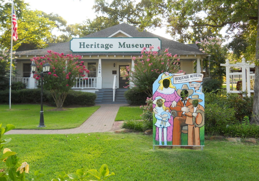 "Photo by (c) <a href=""https://commons.wikimedia.org/wiki/File:Montgomery_County_Heritage_Museum,_Conroe,_Texas.jpg"" title=""via Wikimedia Commons"">HIM Nguyen</a> / <a href=""https://creativecommons.org/licenses/by-sa/3.0"">CC BY-SA</a>"