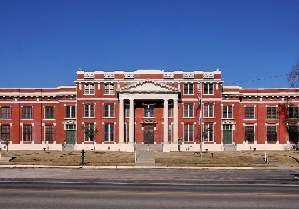 "Photo by (c) <a href=""https://commons.wikimedia.org/wiki/File:Trinity_county_tx_courthouse_2015.jpg"" title=""via Wikimedia Commons"">Larry D. Moore</a> / <a href=""https://creativecommons.org/licenses/by-sa/4.0"">CC BY-SA</a>"